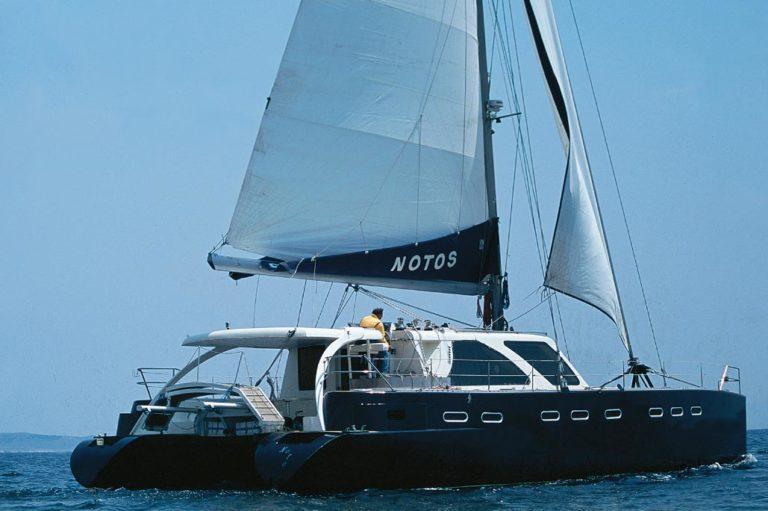 Σχεδιασμός Catamaran πριν την ναυπήγηση, έργο της K.DIAKOSMOS-13