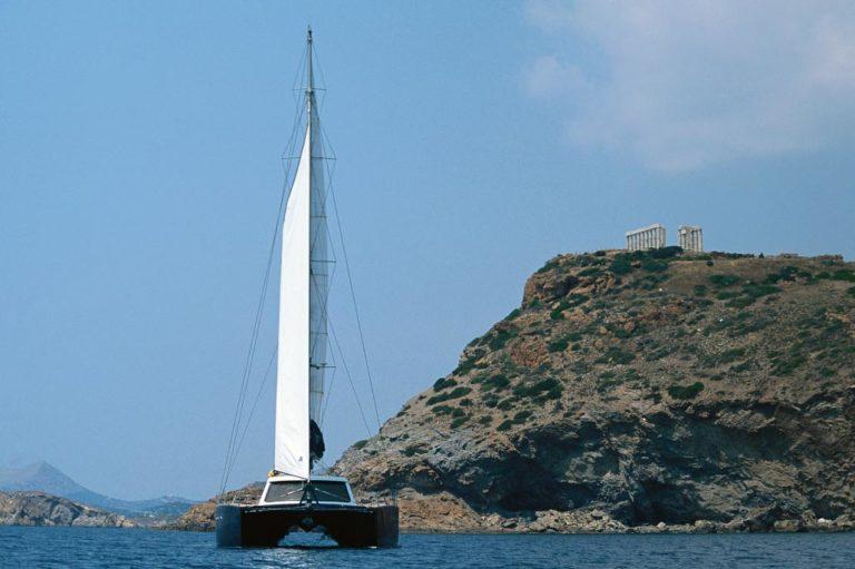 Σχεδιασμός Catamaran πριν την ναυπήγηση, έργο της K.DIAKOSMOS-14
