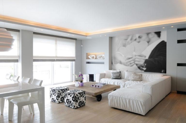 Ανακαινιση κατοικίας στην Άνω Βούλα, έργο της K.DIAKOSMOS-1